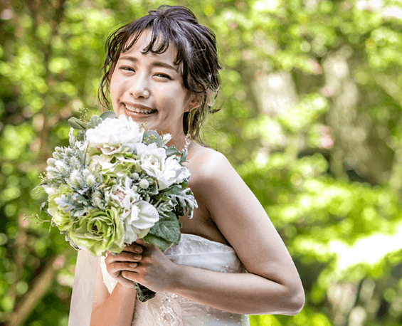 花嫁が一番輝くヘアメイク